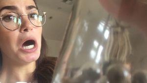 Gesundheitspillen? Nikki Reed schluckt ihre eigene Plazenta!
