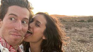 Am Valentinstag: Nina Dobrev schleckt Freund Shaun White ab