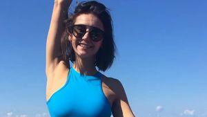 Hotte Lady! Sportskanone Nina Dobrev zeigt sexy Bauch-Muckis