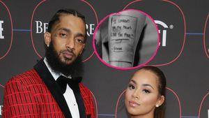 Nipsey Hussles Freundin bekommt Tattoo in seiner Handschrift