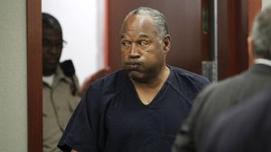 In Zelle masturbiert: Verspielt O.J. Simpson Haftentlassung?