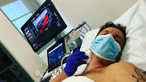 Fans in Sorge: Oliver Hudson teilt Foto aus dem Krankenhaus