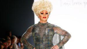 Wow-Auftritt: Olivia Jones rockt Fashion-Week-Laufsteg