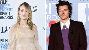Olivia Wilde und Harry Styles wiedervereint am Filmset