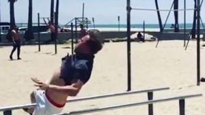Epic Fail: Über Olly Murs' Trainingsunfall lacht das Netz