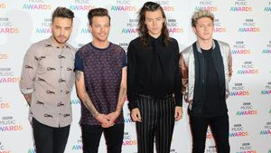 One Direction bei einer Award Show 2015