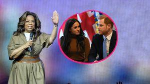 Was hat Oprah mit Meghan und Harrys Royal-Rücktritt zu tun?