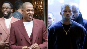 P. Diddy, Jay-Z und Kanye West