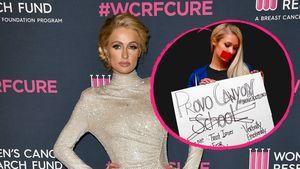 Wegen Misshandlungen: Paris Hilton protestiert vor Schule