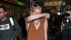 Paris Jackson am Flughafen in Los Angeles