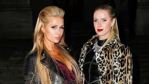 Paris und Nicky Hilton auf der New York Fashion Week 2017