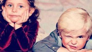 Paris und Prince Jackson als Kinder
