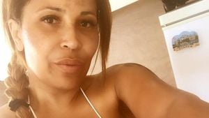 Runde Löcher: So schlimm steht's um Patricia Blancos Brüste