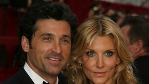 Patrick Dempsey Jilian Fink bei Academy Awards in Los Angeles