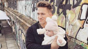 Rappt BTN-Star Patrick seiner kleinen Tochter Lilly vor?