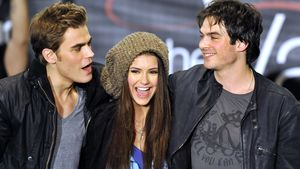 "Paul Wesley, Nina Dubrev and Ian Somerhalder, ""Vampire Diaries""-Stars"