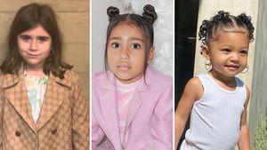 XL-Schmuck und Make-up: Verpassen Kardashian-Kids Kindheit?