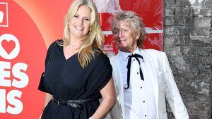 """Ehefrau Penny: """"Rod Stewart wollte nicht noch mal heiraten"""""""