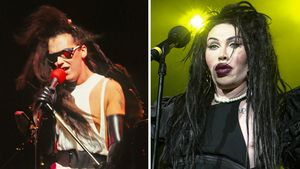 Pete Burns 1984 und 2012