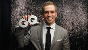 Smoking-Pflicht: Philipp Lahm ist kein Red-Carpet-Fan!