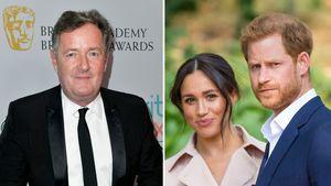 """Piers Morgan findet Harry und Meghans Namenswahl """"ironisch"""""""