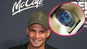 Spendabel: Pietro Lombardi schenkt Manager teure Rolex-Uhr!