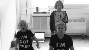 Konzert-Tournee als Mama macht sie fertig: Pink weint oft