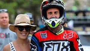 Sängerin Pink mit Ehemann Carey Hart