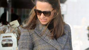 Pippa Middleton nach Babygerüchten mit rundem Bauch auf Tour