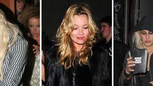Kate Moss, Pixie Lott und Alice Dellal