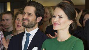 Prinz Carl Philip und Prinzessin Sofia bei einer Veranstaltung im März 2017
