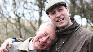 """""""Sehr stolz"""": Prinz Charles schwärmt von seinem Sohn William"""