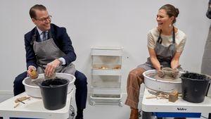 Royales Töpfern: Daniel & Victoria machen sich schmutzig!