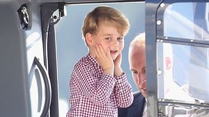 Wird er Pilot? Prinz George ist ganz vernarrt in Helikopter!