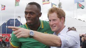 Junggesellenabschied: Usain Bolt plant für Prinz Harry!
