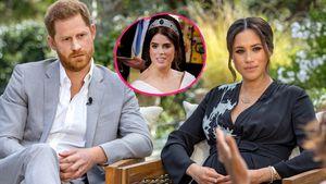 Kann Eugenie zwischen Meghan, Harry und Royals vermitteln?