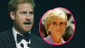 Für verstorbene Mutter: Prinz Harry nimmt Preis entgegen