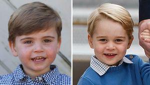 Fans sicher: Prinz Louis wird Bruder George immer ähnlicher!