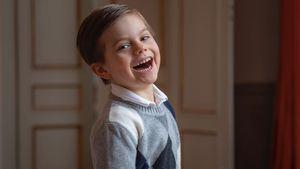 Fünfter Geburtstag: So süß ist Prinz Oscar auf neuen Fotos!