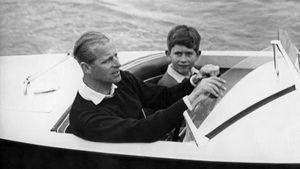 Prinz Charles erinnert sich an Kindheit mit Papa Philip