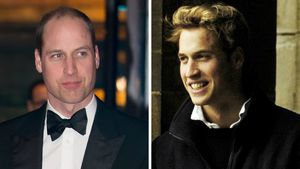 Prinz William heute und damals