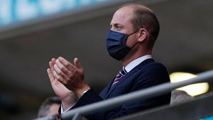 Fußball-EM: Hier feuert Prinz William das englische Team an