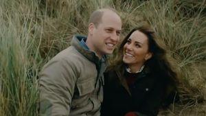 Süßer Clip: William und Kate tollen ausgelassen mit den Kids