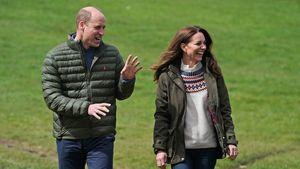 Nach Philips Beisetzung: William und Kate lachen wieder