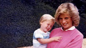 Kleiner Held: Prinz William wollte Diana zur Königin machen