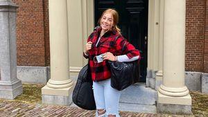 Zerrissene Jeans: Prinzessin Alexia am ersten Tag im College