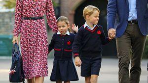 Bleibt die Schule auch für George und Charlotte geschlossen?