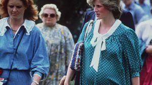 Schwangere Prinzessin Diana