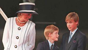 Mama Diana schenkte Prinz William einen sexy Kuchen zum 13.