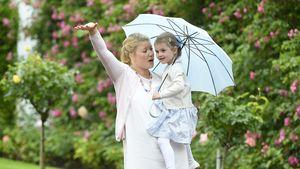 Prinzessin Estelle und Nanny Katie Millington